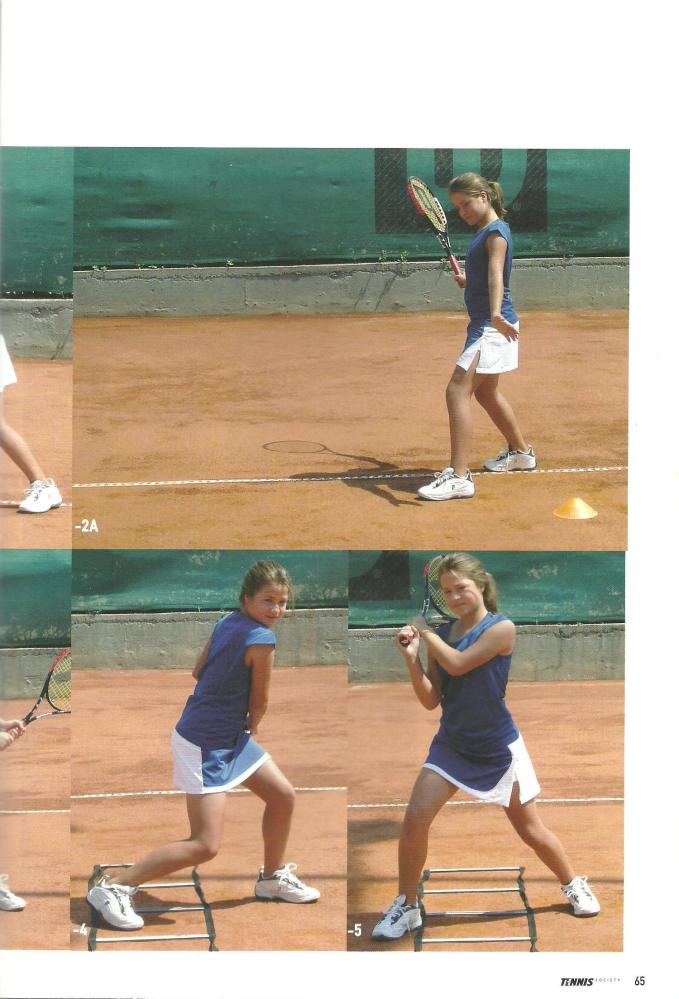 Άρθρο Tennis Society Σεπτεμβρίου 2007- Το ''Footwork'' (4/4)