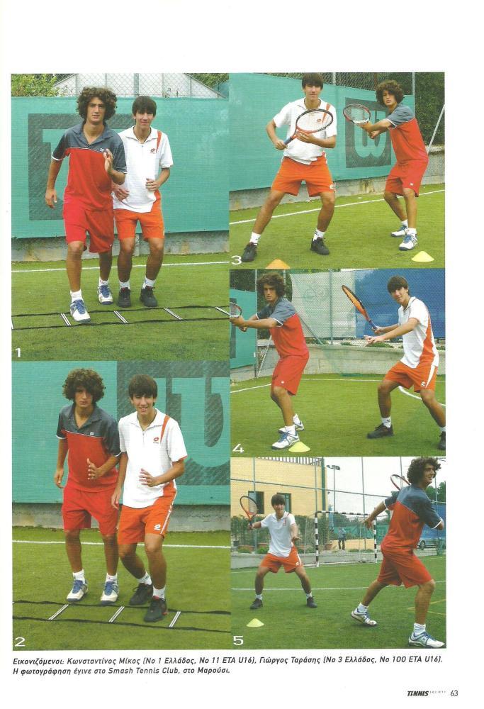 """Άρθρα Tennis Society Δεκεμβρίου 2007 - Μαρτίου 2008: ''Inside-out""""-Το ''όπλο'' (2/4)"""
