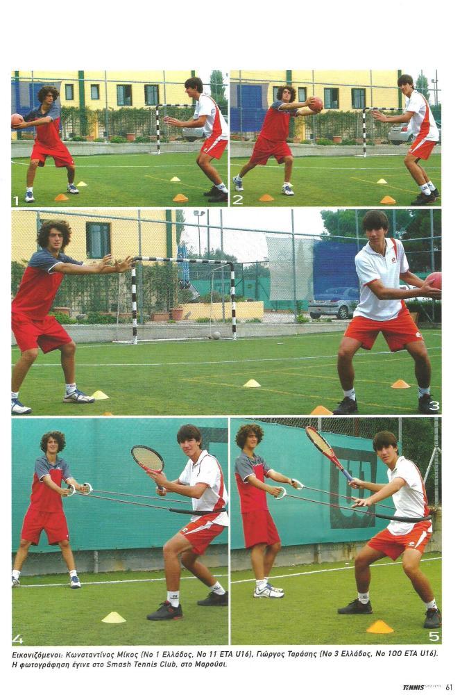 """Άρθρα Tennis Society Δεκεμβρίου 2007 - Μαρτίου 2008: ''Inside-out""""-Το ''όπλο'' (4/4)"""