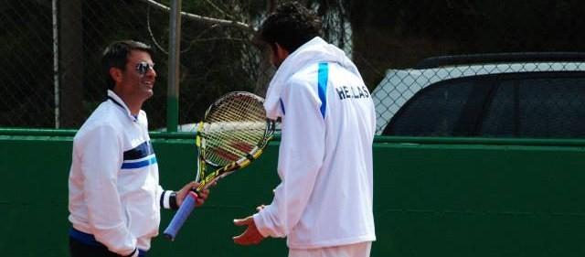 Davis Cup 2014 World Group 2, Athens-Ilioupoli Tennis Club: Greece-Bulgaria 1-4 (2/6)